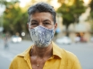 Face mask reduces severity of COVID-19