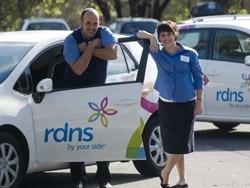 Home nursing: RDNS district nurses
