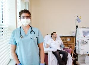 A renal nurses talks about the close bonds she for