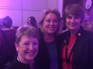 ACN president Kathy Baker and CEO Kylie Ward with