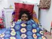Maggie Porter on dialysis in Kiwirrkurra