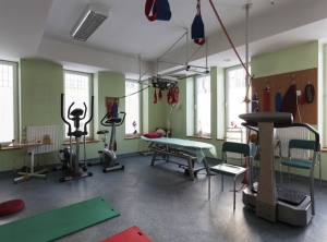 Patient was kept in a WA hospital gym