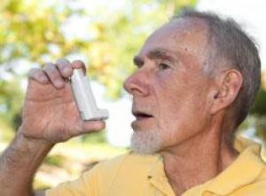 Asthma in the elderly: a study of the role of vita