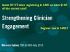 Strengthening Clinician Engagement Conference