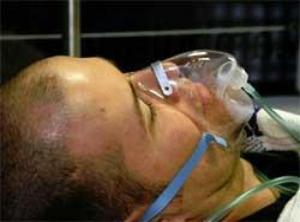 Oxygen may harm heart attack patients