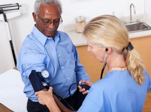 Surround sound blood pressure treatment